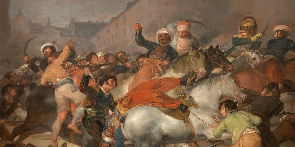 2 de mayo de 1808 en Madrid web