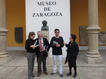 La Casa natal de Goya en Fuendetodos acoge desde el 25 de marzo el proyecto 'Boombox' de Enrique Radigales. Gabinete de comunicación Gobierno de Aragón