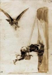 Dibujo de Goya en subasta por Sostheby´s.  Artespain.com