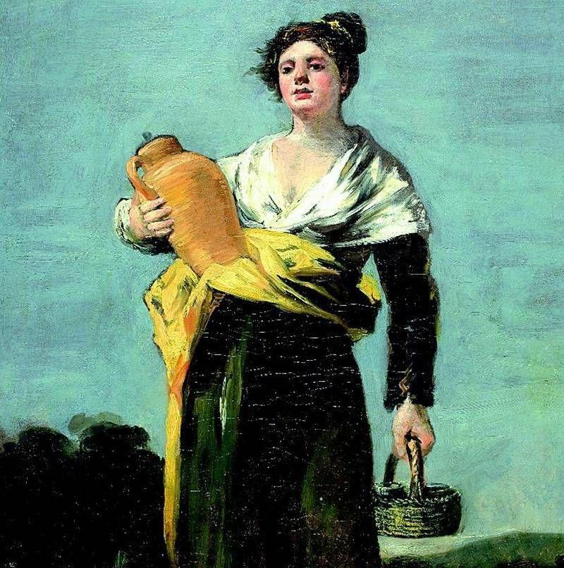 ¿Fue María Agustín 'La aguadora' de Goya?. elperiodicodearagon.com