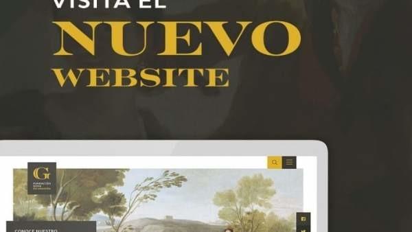 Nueva imagen de la Fundación Goya, que estrena página web y contenidos