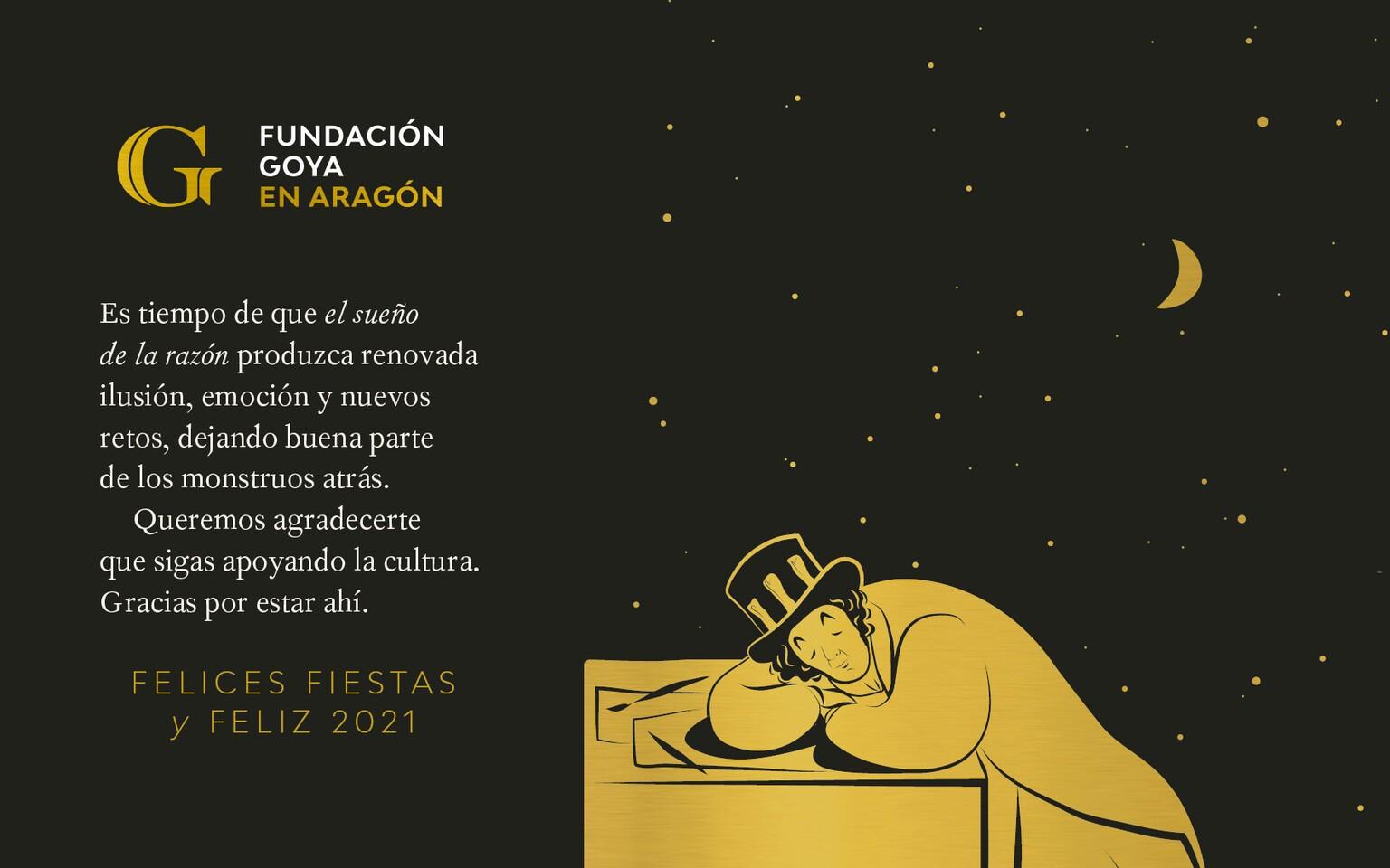 Fundación Goya - Felicitación 2021