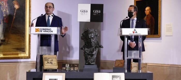 Presentación de los actos por el 275 aniversario de Goya