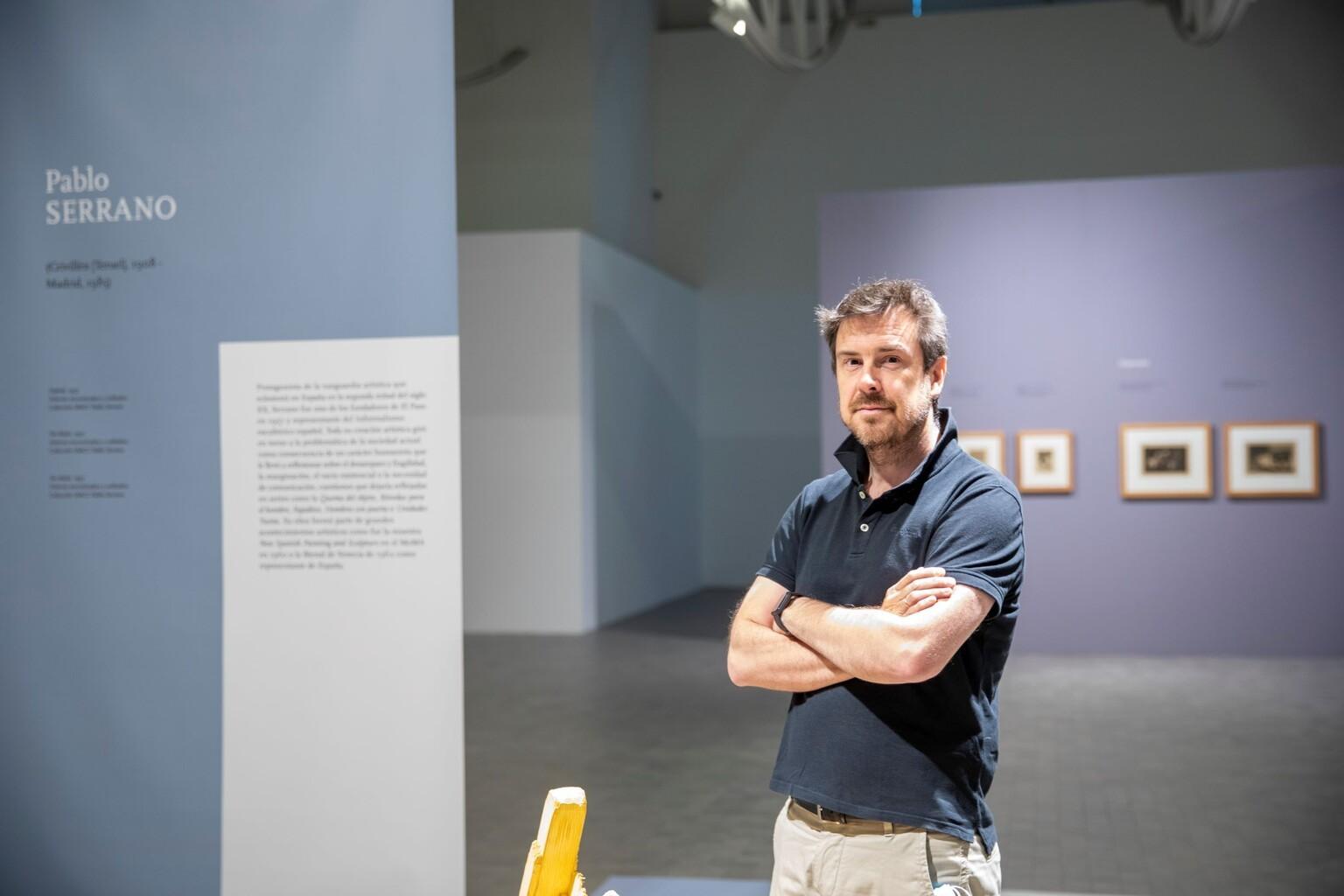 Julio Ramón en el IAACC Pablo Serrano