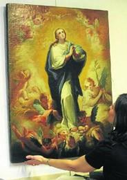 La subasta de un supuesto cuadro de Goya celebrada en Bilbao queda desierta. EFE Bilbao