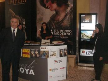 Aragón promociona su oferta turística en Milán con motivo de la exposición Goya y el Mundo Moderno. Aragón Digital