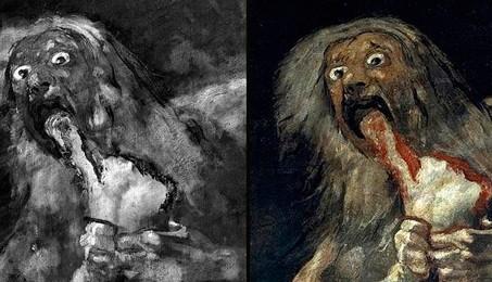 La versión original que pintó Goya. ABC