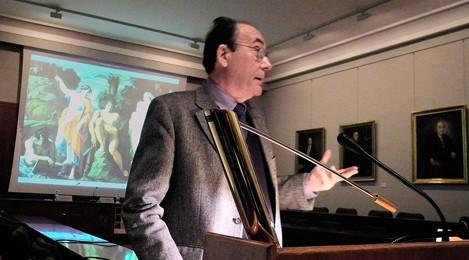 """""""Los dioses antiguos sobreviven entre nosotros con otras máscaras"""". Gabinete de comunicación Gobierno de Aragón"""
