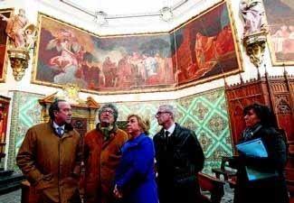 Goya vuelve a lucir en Aula Dei. El Periódico de Aragón