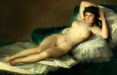 La escritora Almudena de Arteaga recrea la intriga sobre la 'maja desnuda' de Goya. Heraldo de Aragón