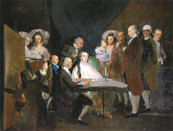 Goya y el infante don Luis. masdearte.com