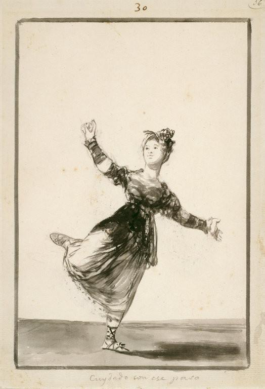La Fundación Goya en Aragón amplía su catálogo digital con los dibujos del 'Álbum de bordes negros' del artista