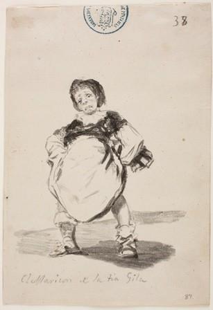 El Prado saca a la luz El Maricón de la Tía Gila de Goya que reivindica identidades sexuales no normativas