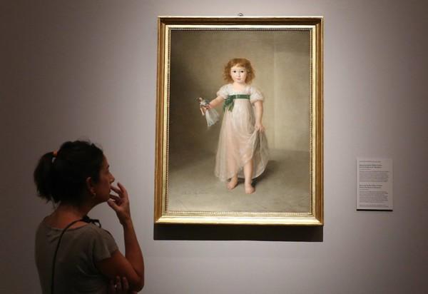 El Prado cuelga sus vestidos de muselina