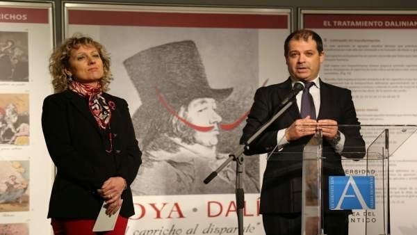 UNEATLANTICO acoge la muestra 'Del capricho al disparate', de grabados de Goya y Dalí