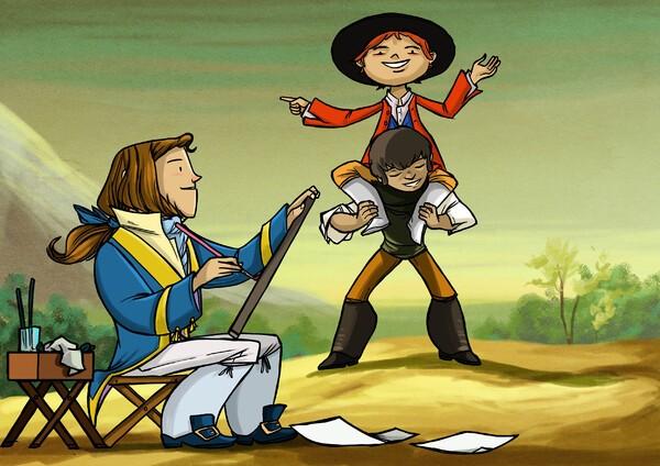 Un cortometraje animado acerca la figura y legado de Goya a los escolares
