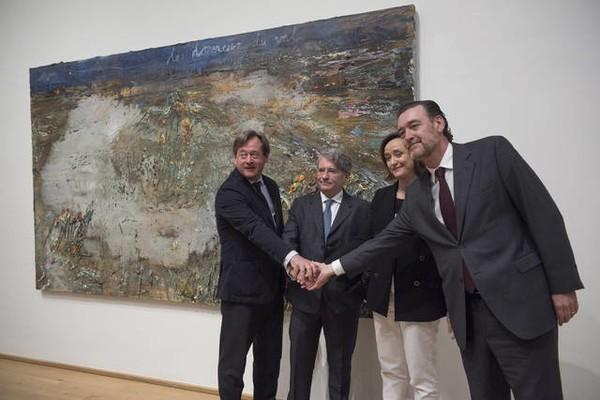 Koplowitz mostrará en Bilbao obras poco expuestas de Goya, De Kooning y Bacon
