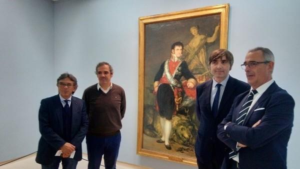 El Fernando VII de Goya: de un almacén al Bellas Artes