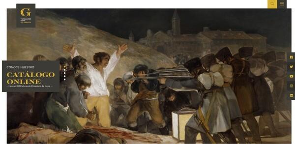 La Fundación Goya en Aragón ampliará su catálogo online en más de 700 obras antes de finales de verano