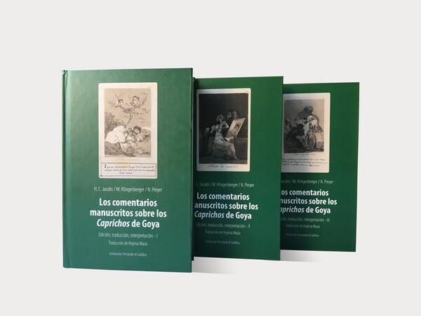 Los comentarios manuscritos de los Caprichos de Goya en un estudio