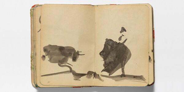 Los cuadernos de Picasso, un reflejo de su admiración por Goya y Velázquez