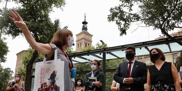 Una nueva ruta recorre los pasos de Goya en la ciudad del cierzo
