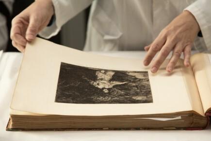 El Museo de Zaragoza recibe el depósito 211 estampas de Goya de primera edición