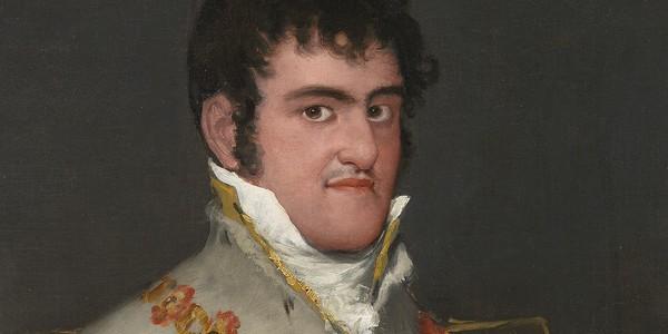 El retrato deFernando VII, punto de partida en el viaje del rey