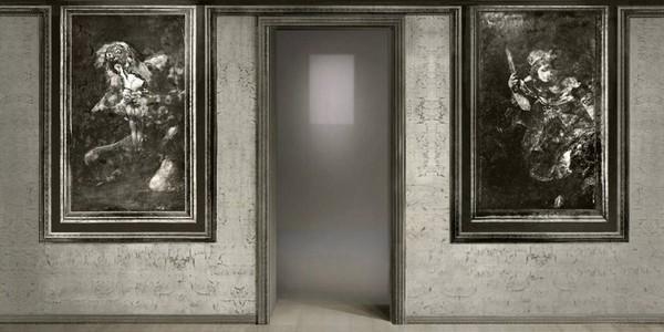 Carlos Foradada nos acerca ala disposición original de las Pinturas negras