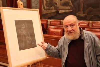 """Guillermo Pérez Villalta y su """"Disparate"""" personifican un nuevo reconocimiento a Goya"""