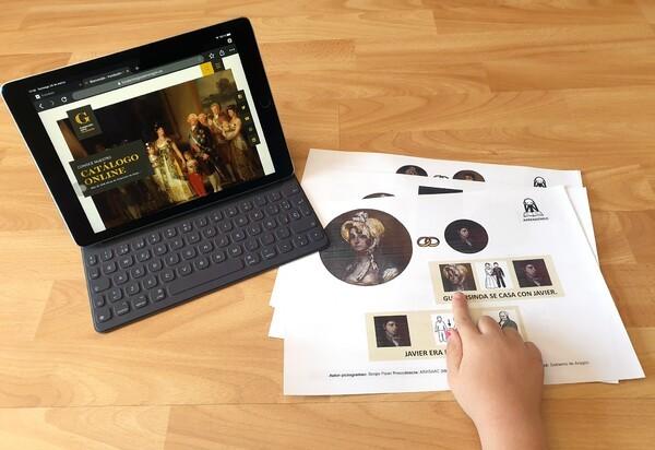 La biografía y las obras de Goya en Aragón adaptadas a pictogramas