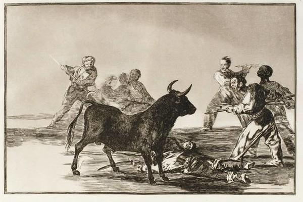 Los 33 grabados de Goya de 'La Tauromaquia', subastados por casi 600.000 euros