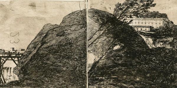 Se expone en Fuendetodos un grabado inédito de Goya