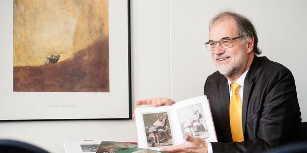 Helmut C. Jacobs: «Goya es el embajador artístico de Aragón»