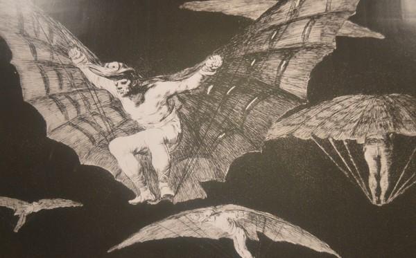 'Los Disparates' de Goya están en el MUSA