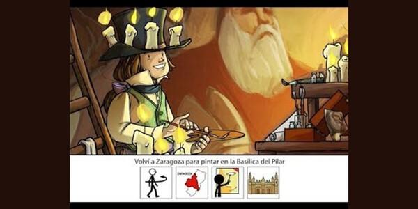 La Fundación Goya en Aragón subtitula con pictogramas de ARASAAC el cortometraje animado