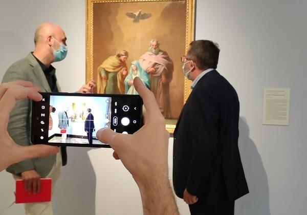 Una nueva obra de Goya en el Museo de Zaragoza: 'La Virgen con san Joaquín y santa Ana'