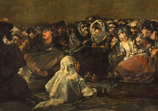 Luz verde al convenio de cesión a Aragón de 14 imágenes de las Pinturas Negras de Goya del Museo del Prado
