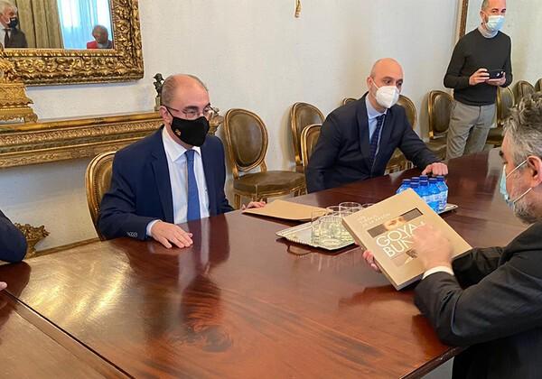 El Gobierno de Aragón ultima los actos del 275 aniversario de Goya