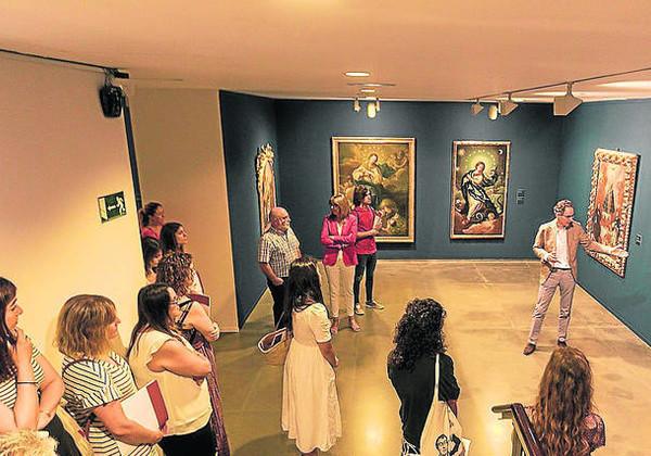 Una gran exposición descubre en Huesca la pintura y la vida de fray Manuel Bayeu