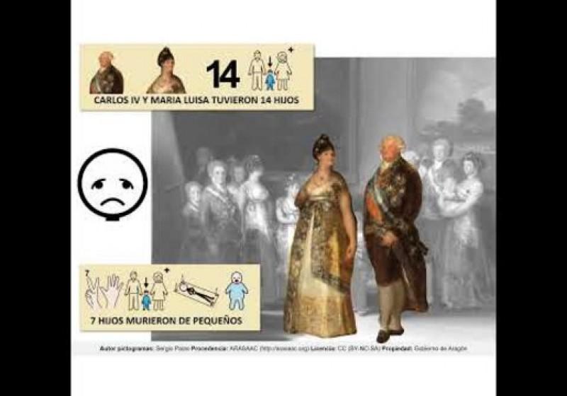 Las obras de Goya en el Museo del Prado más accesibles con pictogramas