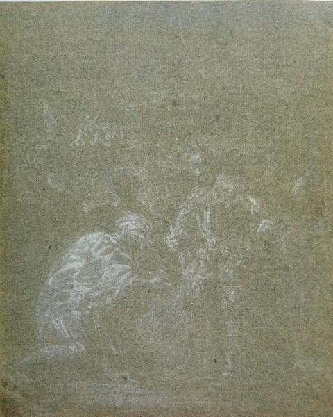 Rendición de Sevilla (bosquejo)
