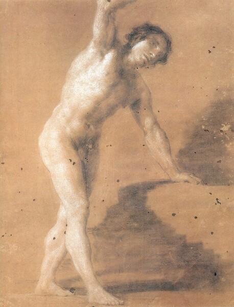 Academia: desnudo masculino