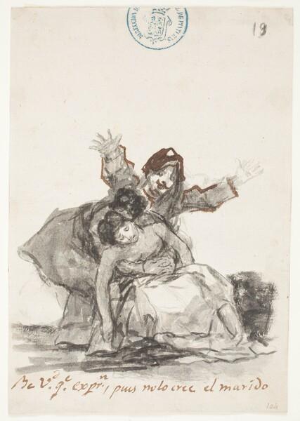 Ve Vd. que expresión, pues no lo cree el marido (C.19)