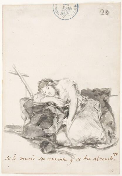 Se le murió su amante y se va al convento (C.20)