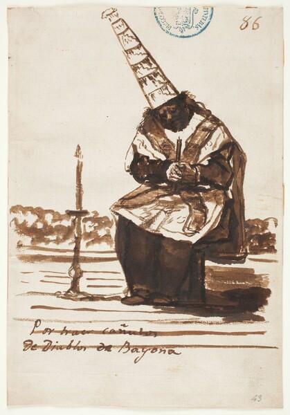 Por traer canutos de diablos de Bayona (C.86)