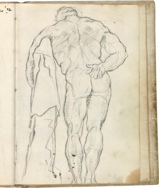 Hércules Farnese (vista dorsal izquierda)