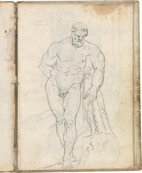 Hércules Farnese (vista frontal)
