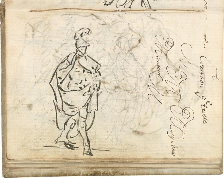 Estudios de las figuras de Aníbal y del Genio