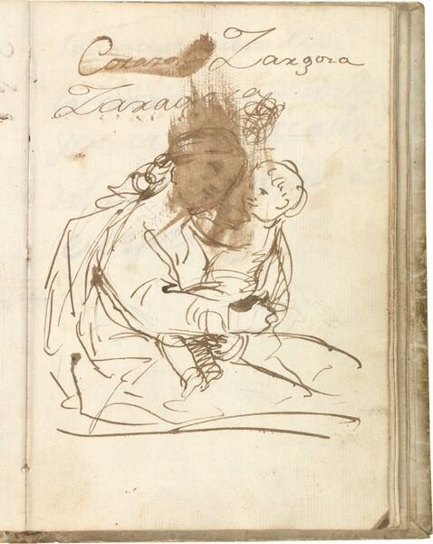 Virgen con el Niño en brazos